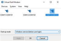 Virtual Null Modem screenshot medium