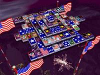3D Magic Mahjongg - 4th of July screenshot medium
