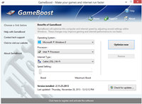 GameBoost screenshot medium