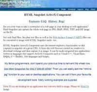 HTML Snapshot screenshot medium