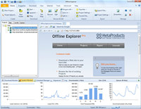 Offline Explorer Pro screenshot medium