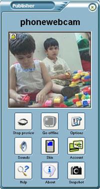 Phonewebcam Publisher