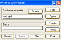 007 MP3 Sound Recorder