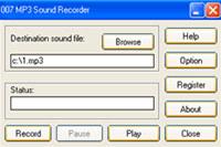 007 MP3 Sound Recorder