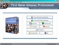 First Name Almanac screenshot medium