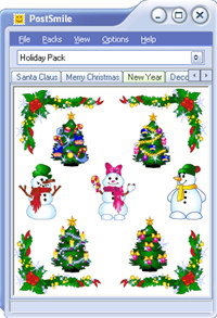 Holiday Smiley Collection for PostSmile screenshot medium
