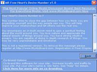 MB Heart Desire Number