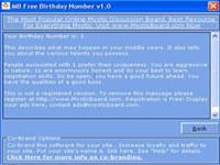 MB Birthday Number