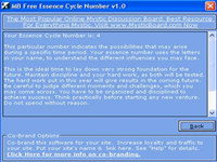MB Essence Cycle Number