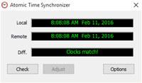 Atomic Time Synchronizer