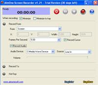 AimOne Screen Recorder
