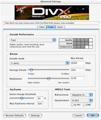 DivX Pro Video Bundle for Mac OSX