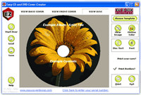 Easy CD & DVD Cover Creator and Disc Label Maker screenshot medium