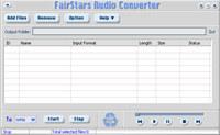FairStars Audio Converter screenshot medium