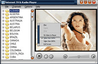 Internet TV & Radio Player