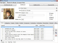 Music Catalogue Master