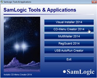 SamLogic CD-Menu Creator screenshot medium