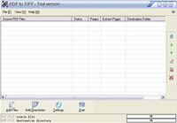 Ap PDF to TIFF converter