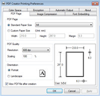 Vista PDF Creator