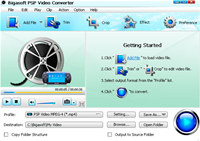 Bigasoft PSP Video Converter