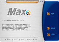 Max PSP PDA MP4 Video Converter