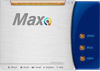 Max IPOD PDA MP4 Video Converter