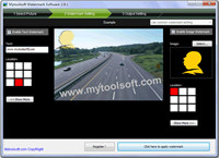 Mytoolsoft Watermark Software screenshot medium