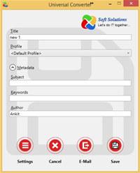 Universal Converter screenshot medium