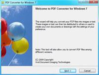 PDF Converter for Windows 7 screenshot medium