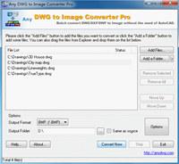 DWG to JPG Converter Pro 2010.3