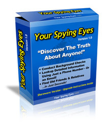 Your Spying Eyes - Conduct Background Checks on Anyone