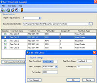 Easy Time Clock Driver screenshot medium