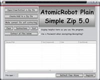 Atomicrobot Plain Simple Zip screenshot medium
