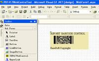 EaseSoft PDF417 Barcode  .NET  Control
