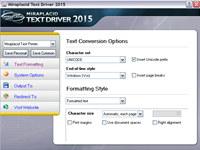 Miraplacid Text Driver SDK
