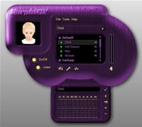 Purple Magic Skin - MorphVOX Add-on