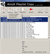 AmoK Playlist Copy