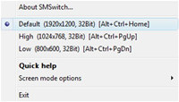 Screen Mode Switch