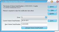 Disk Volume Serial Number Changer