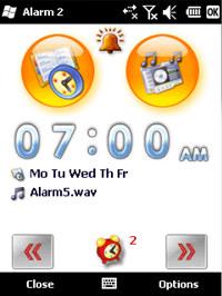 CoolStuff.WS Alarm Clock