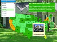 USA Real Estate Map