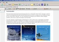 Online Flash Calendar