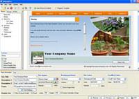 A4DeskPro Flash Website Builder screenshot medium
