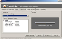 FlashKicker Flash Preloader Software