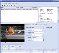 YASA AVI WMV MOV VOB to MP3 Converter