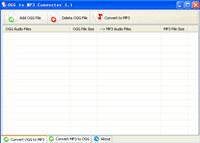 OGG to MP3 Converter