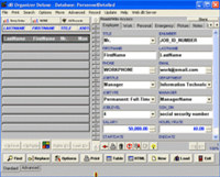 Personnel Organizer Deluxe