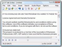 EF Talk Scriber screenshot medium
