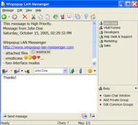 Winpopup LAN Messenger
