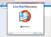 SoftAmbulance Live Mail Recovery screenshot medium